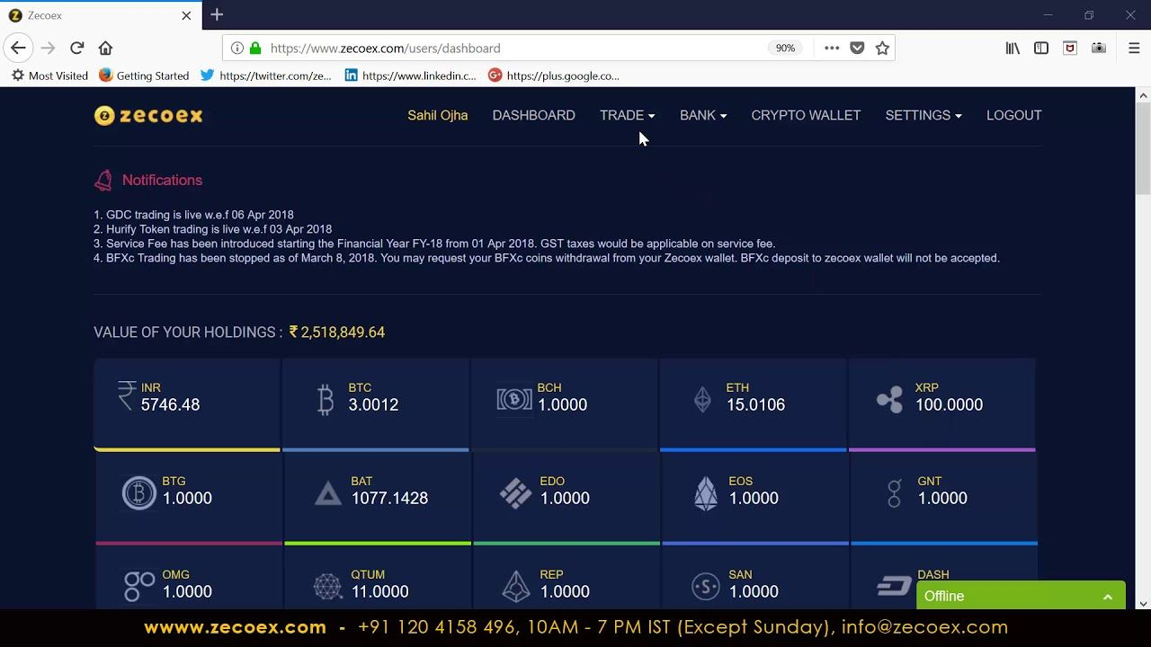 How to Buy Sell Crypto Assets at Zecoex