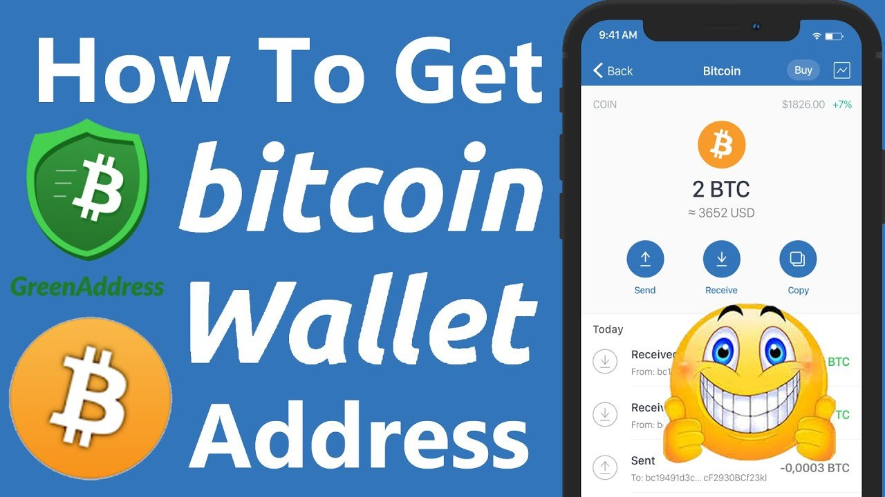 How To Find Bitcoin Wallet ID From Green Address Wallet ...