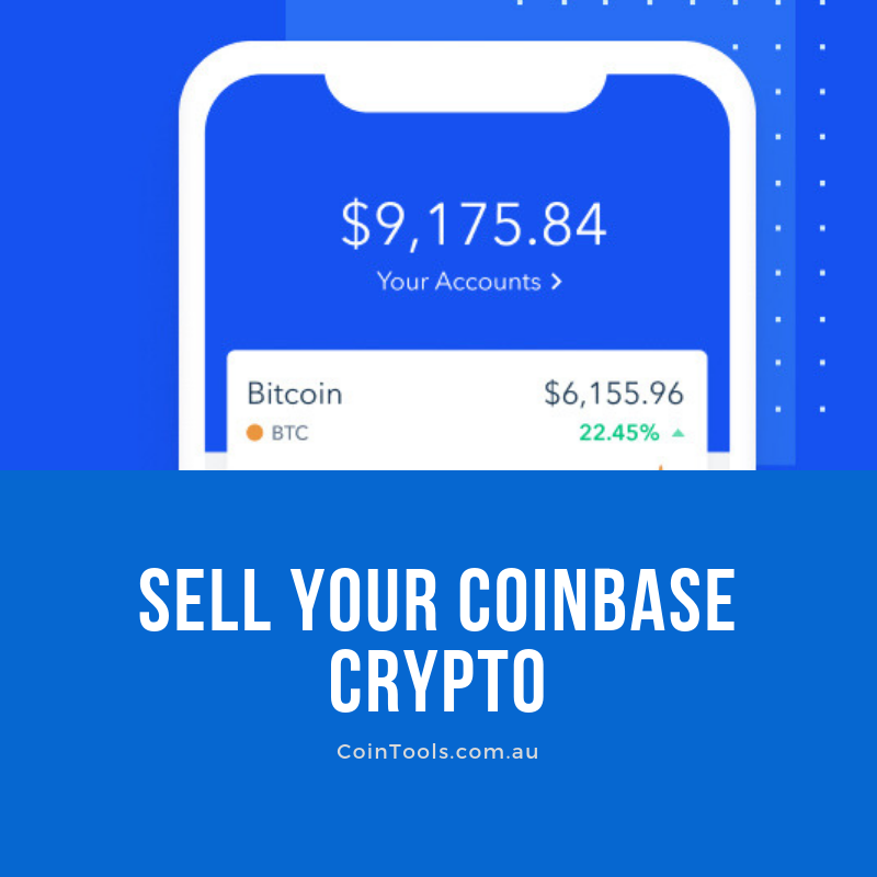 how to sell your coinbase cryptocurrency in australia