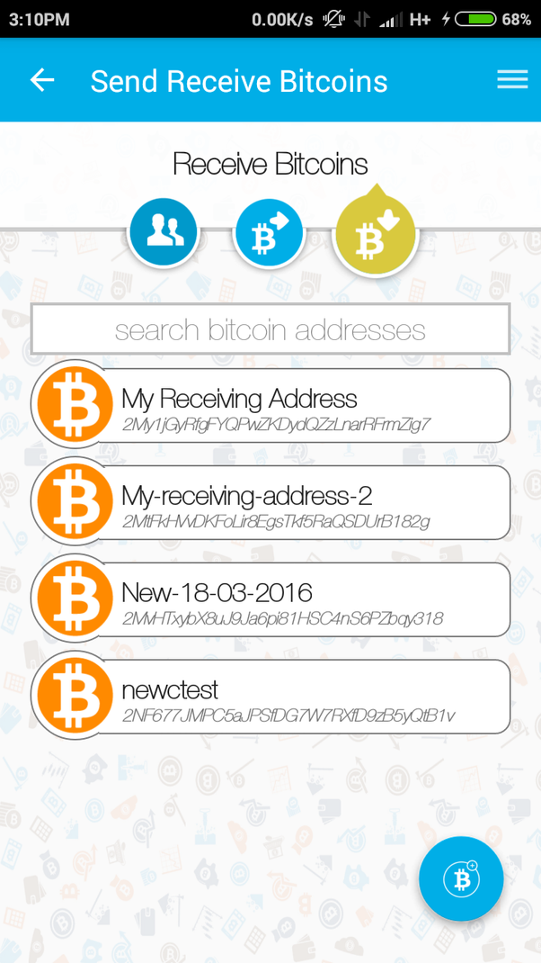 is it possible to change a bitcoin address in zebpay quora